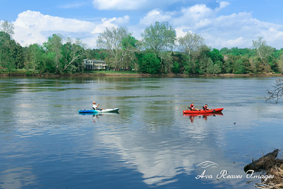 Paddling On The James River
