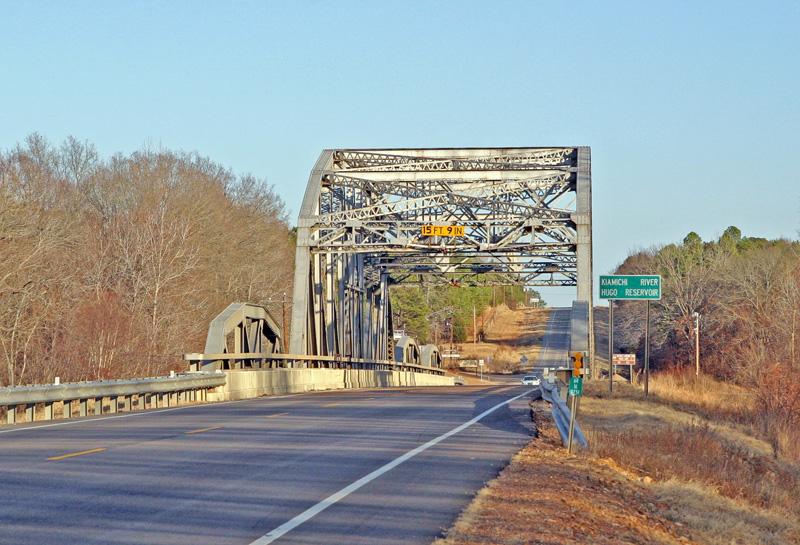 Kiamichi Bridge on Highway 3 about 4 miles from me. Taken with my Tamron 28-75 f/2.8 Lens.