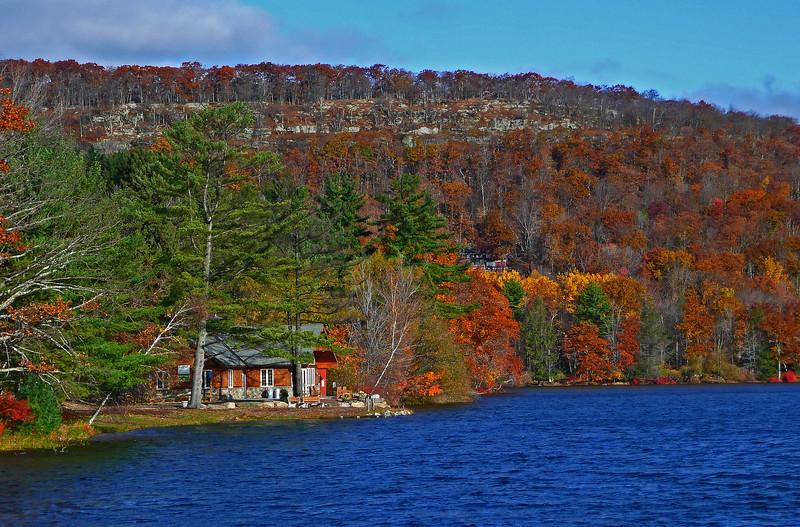 Mountain Lake - Skytop, PA - 2009