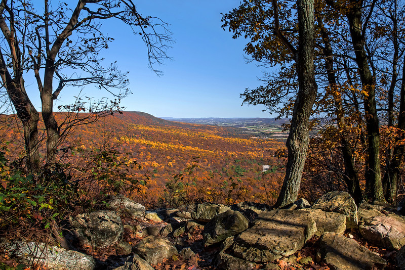 View from Hawk Mountain - Berks County, PA - 2016