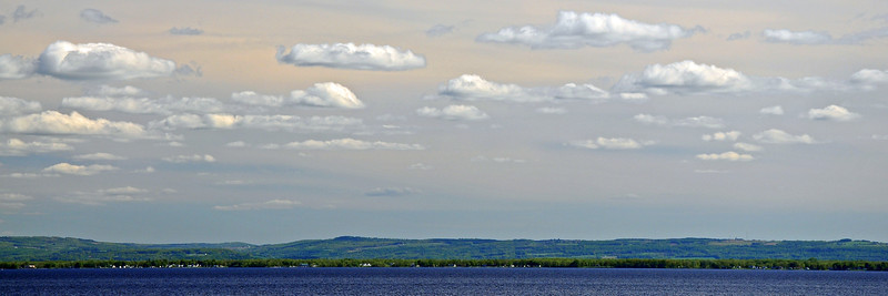 View of Lake Oneida from Cleveland, NY - 2013