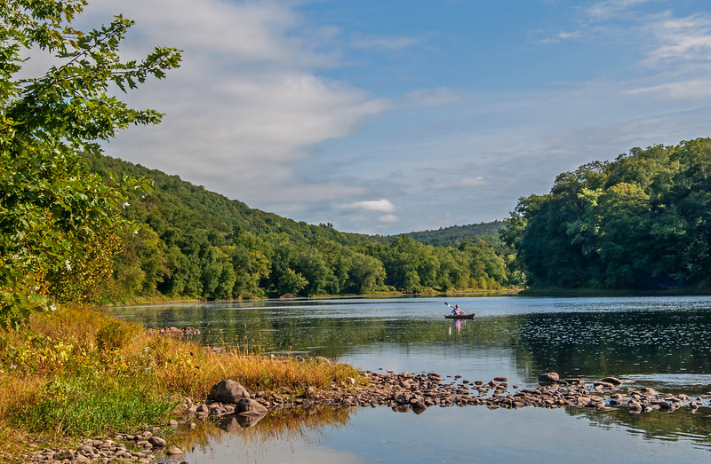 Delaware River - Pike Count, PA - 2016
