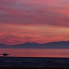 pano white rock sunset