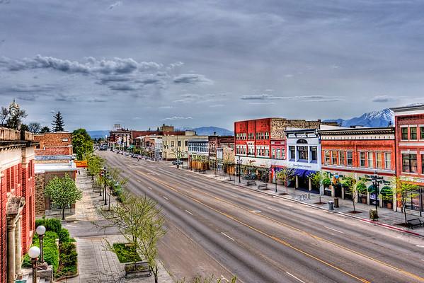 Logan City Utah historic downtown