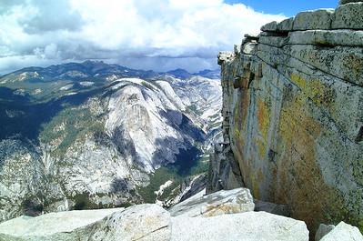 Atop of Half Dome