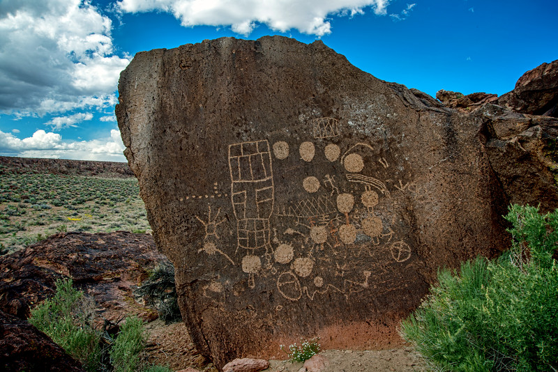 13 moons petroglyph