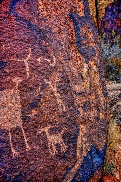 Anasazi Petroglyphs Santa Clara Utah - Brad Peterson