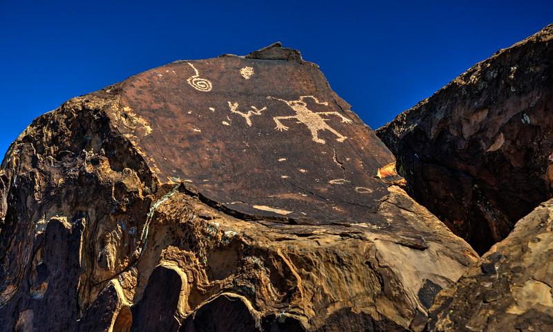 Anasazi petroglyphs