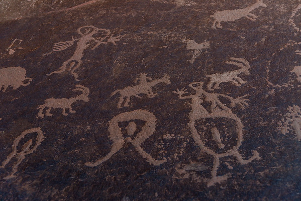 Pregnant mother petroglyph