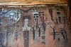 Many colors pictograph panel  Courthouse wash