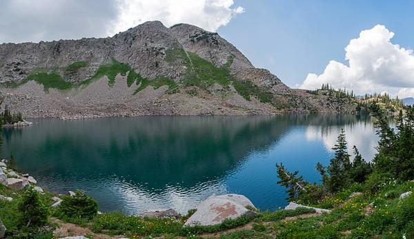 white pine lake pano 1