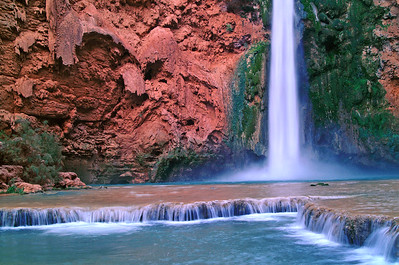 Moony falls   Havasu villiage
