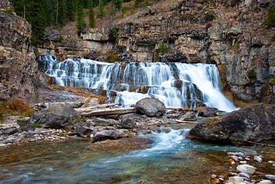 Granite Falls  and  hot springs