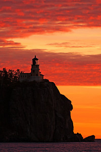 Sunrise at Split Rock Lighthouse, MN