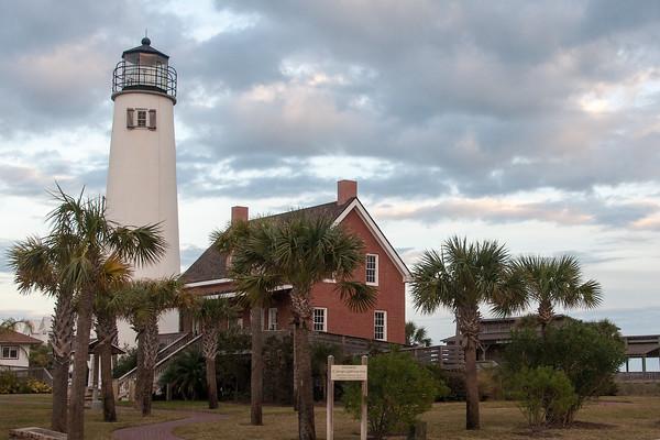 Lighthouse-St  George Island FL-20130219-01-PS-1B