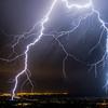 Snap crackle pop!!!   Lighting up the night skies near Salt Lake City