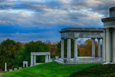 North American, Indianapolis, Indiana.  Crown Hill Cemetery