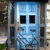 Blue Door & Blue Bike