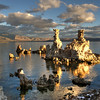 Tufa, Mono Lake at dawn