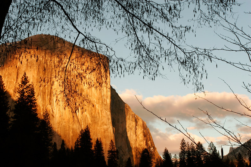 El Capitan at Sunset, Yosemite NP<br /> (California, 2006)