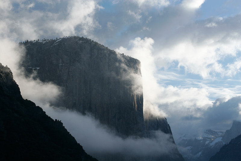 El Capitan After Winter Storm, Yosemite NP<br /> (California, 2006)