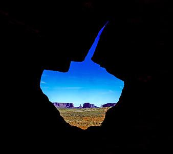 Through the Keyhole Arch