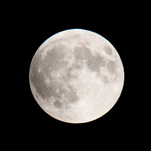Moon-Total Eclipse and Supermoon-Shoreview MN-20150927-19:47