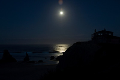 Moon Over the Pacific - Bandon, OR