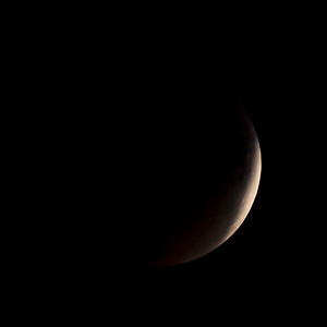 Moon-Total Eclipse and Supermoon-Shoreview MN-20150927-21:05
