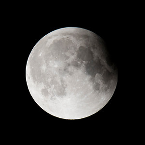 Moon-Total Eclipse and Supermoon-Shoreview MN-20150927-23:25