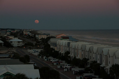 Full Moon Rise from top of St. George Island Lighthouse-02