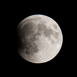 Moon-Total Eclipse and Supermoon-Shoreview MN-20150927-20:08