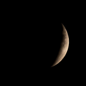 Moon-Total Eclipse and Supermoon-Shoreview MN-20150927-20:58