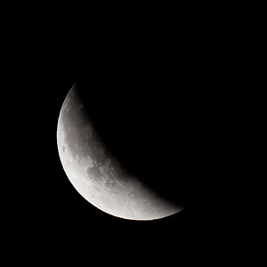 Moon-Total Eclipse and Supermoon-Shoreview MN-20150927-22:45
