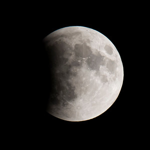 Moon-Total Eclipse and Supermoon-Shoreview MN-20150927-20:18