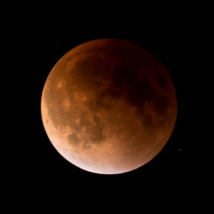 Moon-Total Eclipse and Supermoon-Shoreview MN-20150927-22:15