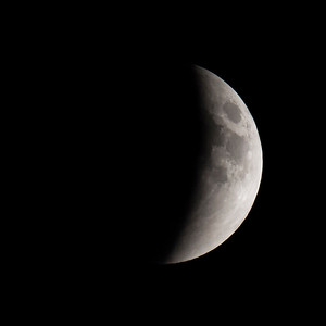Moon-Total Eclipse and Supermoon-Shoreview MN-20150927-20:47
