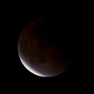 Moon-Total Eclipse and Supermoon-Shoreview MN-20150927-22:27