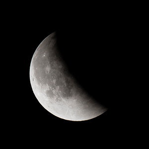Moon-Total Eclipse and Supermoon-Shoreview MN-20150927-22:55
