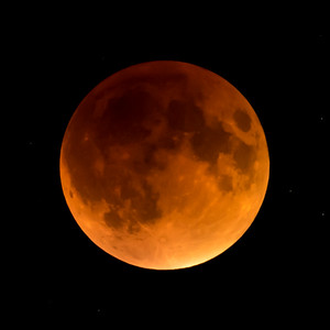 Moon-Total Eclipse and Supermoon-Shoreview MN-20150927-21:47