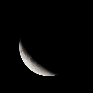 Moon-Total Eclipse and Supermoon-Shoreview MN-20150927-22:35