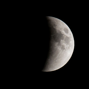 Moon-Total Eclipse and Supermoon-Shoreview MN-20150927-20:37