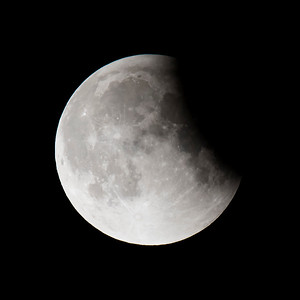 Moon-Total Eclipse and Supermoon-Shoreview MN-20150927-23:16