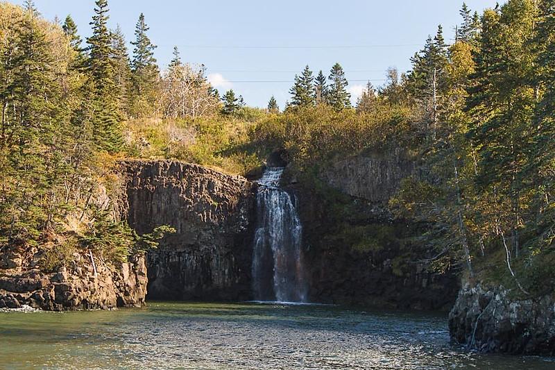 Baxter's waterfall-090122