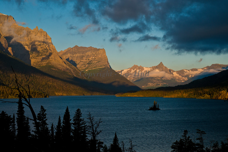 Wild Goose Island, Saint Mary Lake