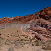 Red Rock Canyon National Conservation Area is adjacent to the sprawl of Las Vegas. A 15 mile loop takes you on a geologic journey through red, purple, pink and grey rocks.