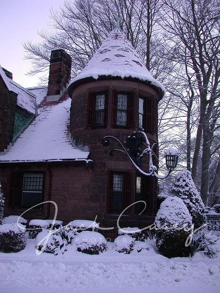 Snow at Morning - Newport, RI - Feb 11, 2003