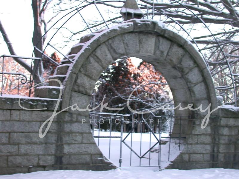 Snow at Morning - Newport, RI - Feb 11, 2003
