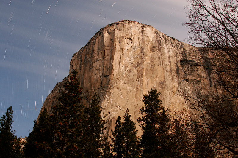 El Capitan At Night, Yosemite NP<br /> (California, 2006)