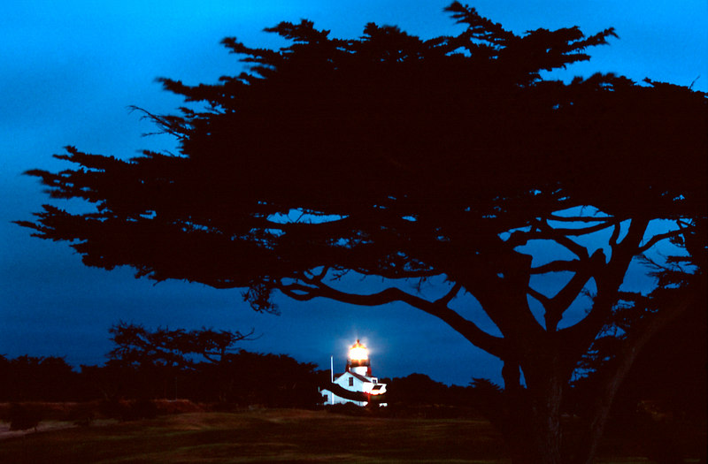 Lighthouse At Twilight, Big Sur Coastline<br /> (California, 2004)
